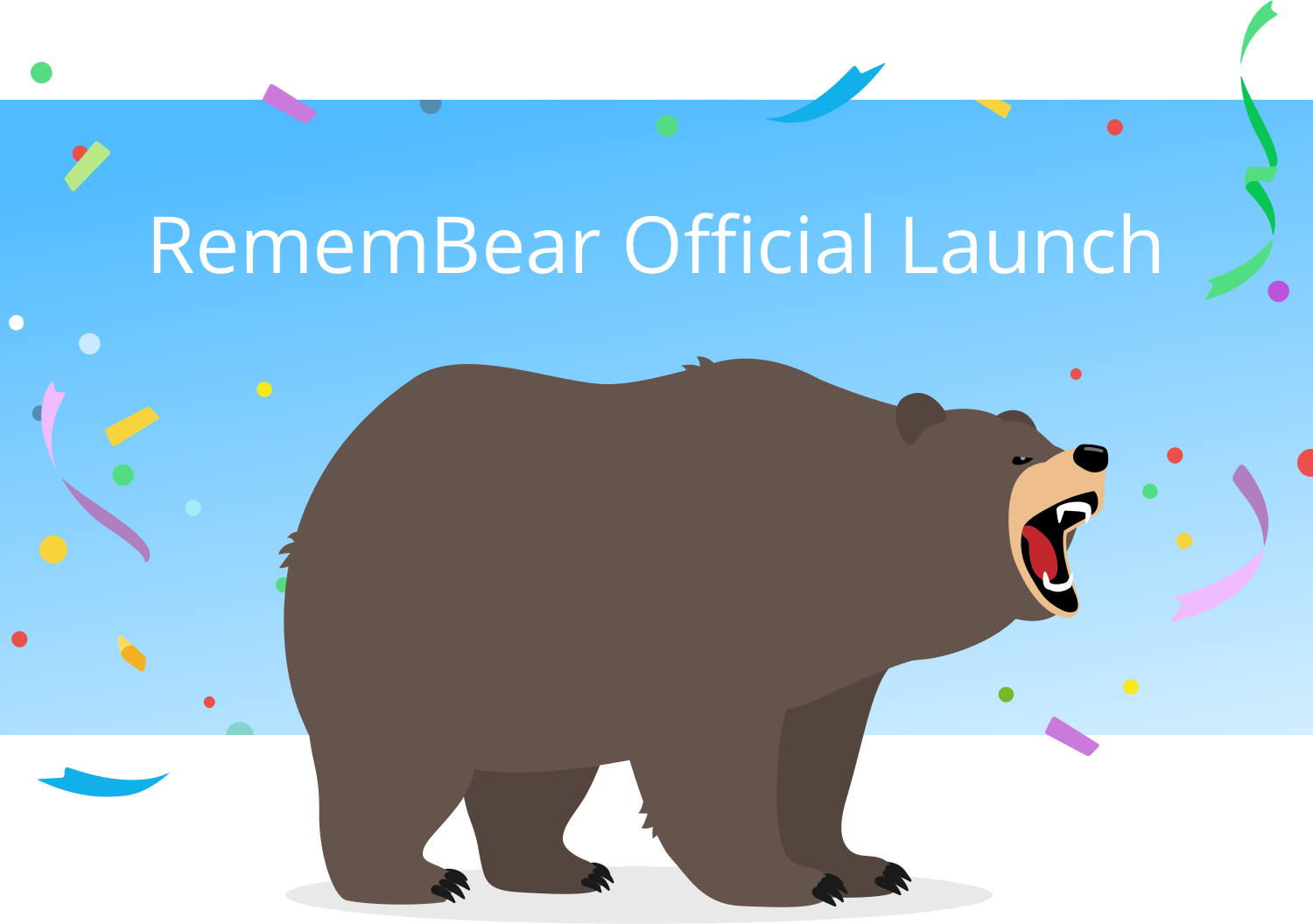 RememBear Official Launch